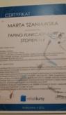 Certyfikat-Kinesiotapingu